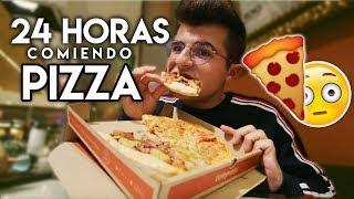 24 HORAS COMIENDO PIZZA!!! 🍕😳| RETO DE COMIDA @ibngarcia