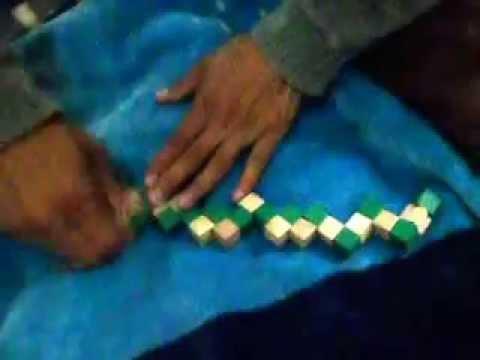 Como armar cubo serpiente de madera facil youtube - Cubos de madera ...