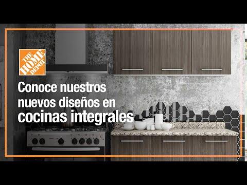 Conoce nuestros nuevos diseños en cocinas integrales