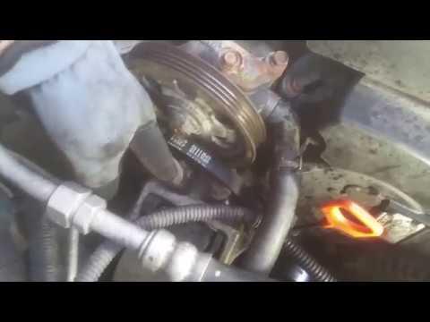 2004 Honda Pilot Power Steering/Serpentine Belt Removal