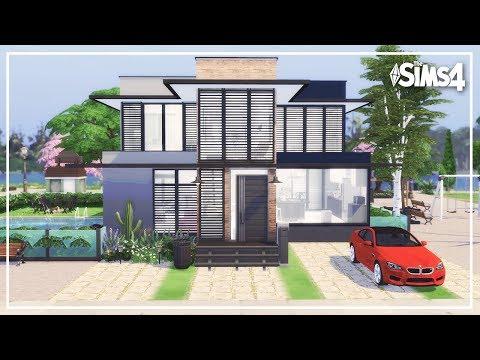 The Sims 4 | Speed Build | CASA MODERNA PARAÍSO + (DOWNLOAD) MODERN PARADISE HOUSE thumbnail