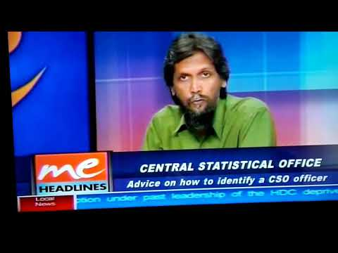 Central Statistical Office @ TV6 9.05.18