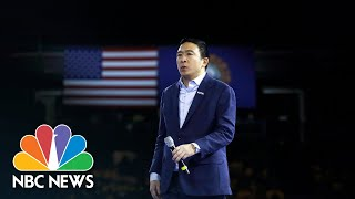 Andrew Yang Drops Out Of Presidential Campaign   NBC News