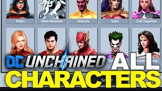 DC: UNCHAINED #2 - All Characters so far