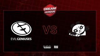 Evil Geniuses vs Fighting PandaS, DreamLeague S13 QL, bo3, game 2 [Eiritel]