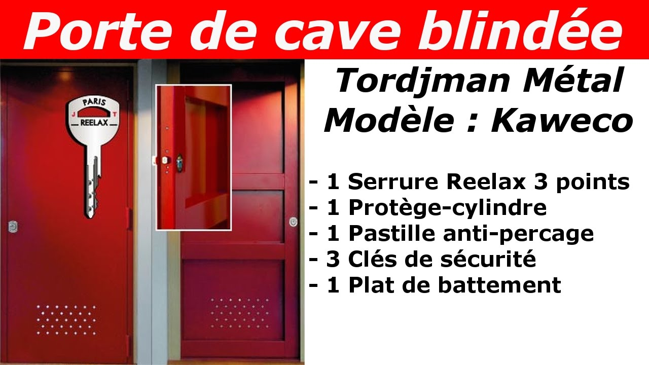 tuto porte de cave blind e tordjman m tal kaweco youtube. Black Bedroom Furniture Sets. Home Design Ideas