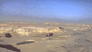 قناة السويس الجديدة: مشهد عام للحفر 27سبتمبر2014