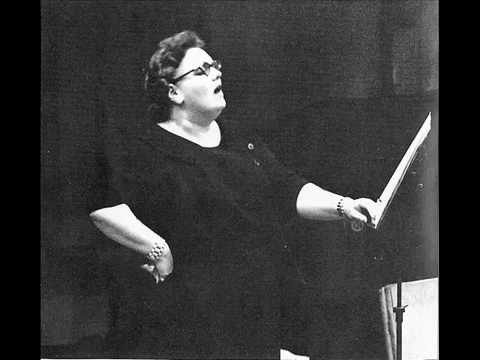 """Eileen Farrell sings """"Libera me"""" - Verdi Requiem - LIVE!"""