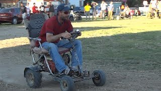 Drunk Redneck Lawnchair Jump And Wipeout