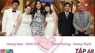 Thanh Dương - Hoàng Thịnh và Hoàng Nam - Minh Trúc   NEWLYWEDS   Ep. 68   23-Feb-15