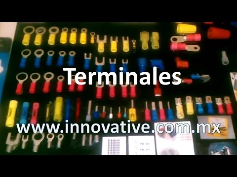 Terminales de Anillo, Tenedor,  Hembras, Machos, Disconnects, Empalmes, Ferrules