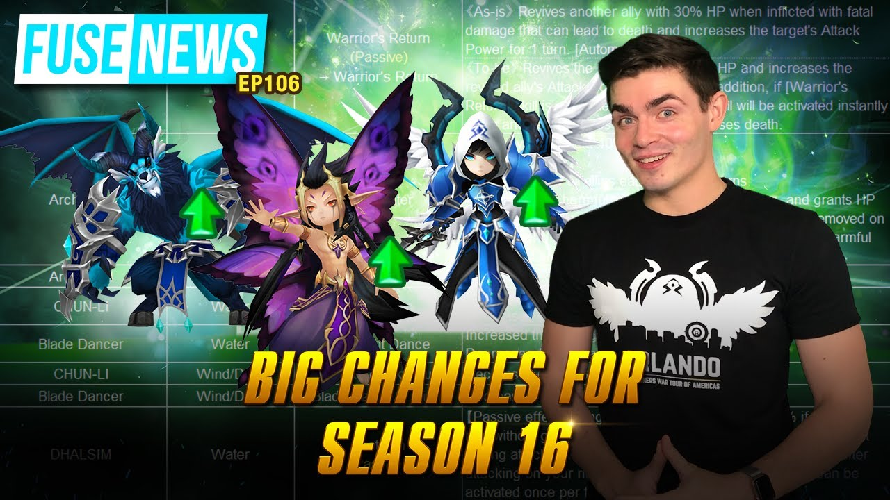 The Fuse News Ep. 106: Big Changes for Season 16!