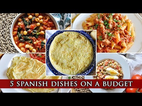 5 Spanish Dishes for College Students on a BUDGET