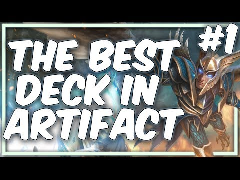 The best deck in Artifact | Mono-Blue Deck Guide | Part #1 [Artifact]