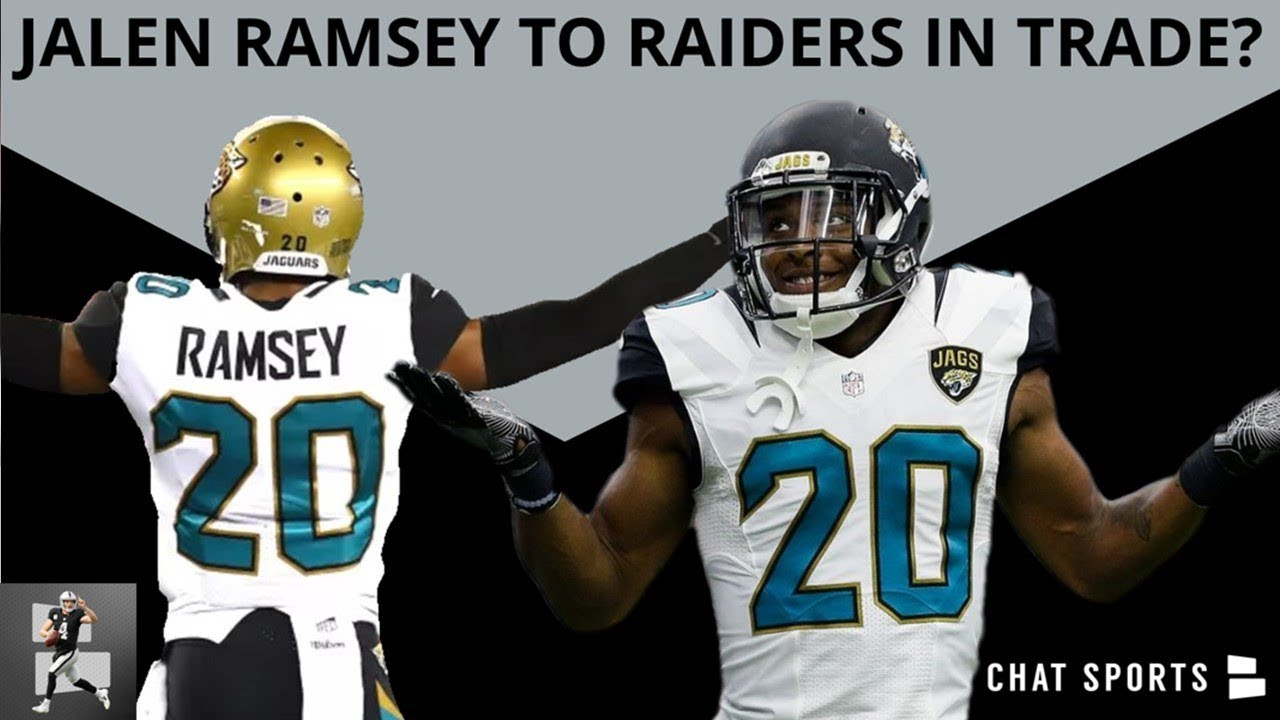 31d4262ff22 Oakland Raiders Rumors From Raider Nation - Jalen Ramsey For 2019 Draft Pick  & Aaron Rodgers Trade