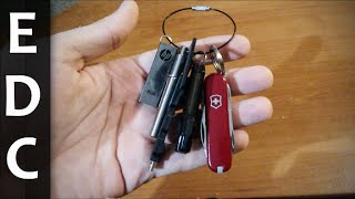 EDC Keychain - Episode 1 - Office Carry [HD]