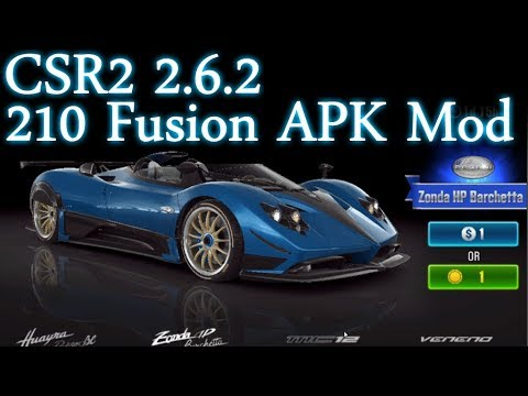 CSR2 2 6 2 - 210 Fusion Mega APK Mod - Android