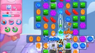 Candy Crush Saga   level 697 no boosters