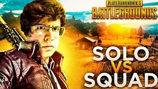 VOLTEI A BRINCAR NO SOLO VS SQUADS DO PUBG!!!