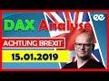 DAX Analyse 15.01.2019 - Meega Trading Marcus Klebe #brexitabstimmung