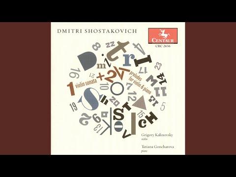 24 Preludes, Op. 34 (arr. L. Auerbach) : No. 14 In E-Flat Minor: Adagio