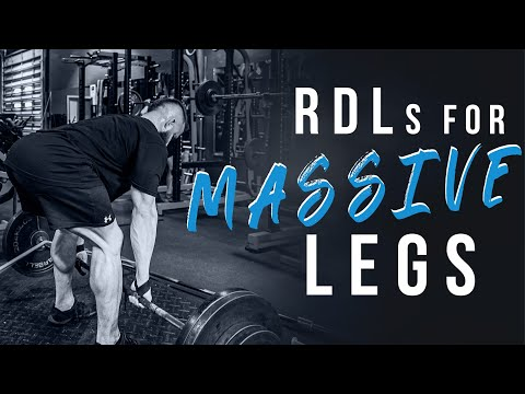 Get Thick AF with this RDL Tutorial - Dense Back, huge Hams and Glutes