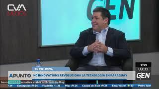 CanalGEN - Horacio Cartes en piso - 02 abril 2019