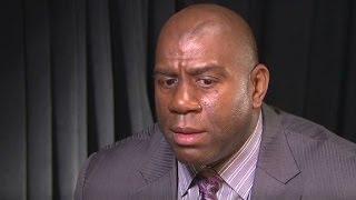 Magic Johnson: I love my gay son