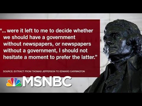 Chris Matthews On World Press Freedom Day Under The Donald Trump Administration | Hardball | MSNBC