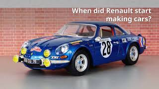 A Brief History of Renault | OSV Learning Centre