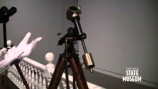 Byrne Tripod - Robert B. Ariail Collection of Historical Astronomy