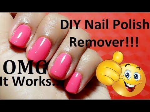 DIY Nail Polish Remover | How To Make Nail Polish Remover At Home | by amazingbeauty