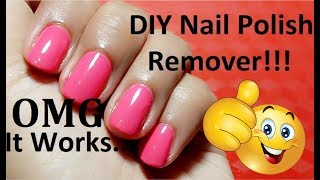 DIY Nail Polish Remover | How To Make Nail Polish Remover At Home | by amazingbeauty