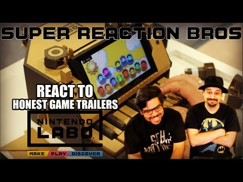 SRB Reacts to NINTENDO LABO (Honest Game Trailers)