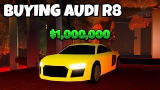 BUYING AUDI R8 *SPENDING 1 MILLION MONEY* - Roblox Jailbreak