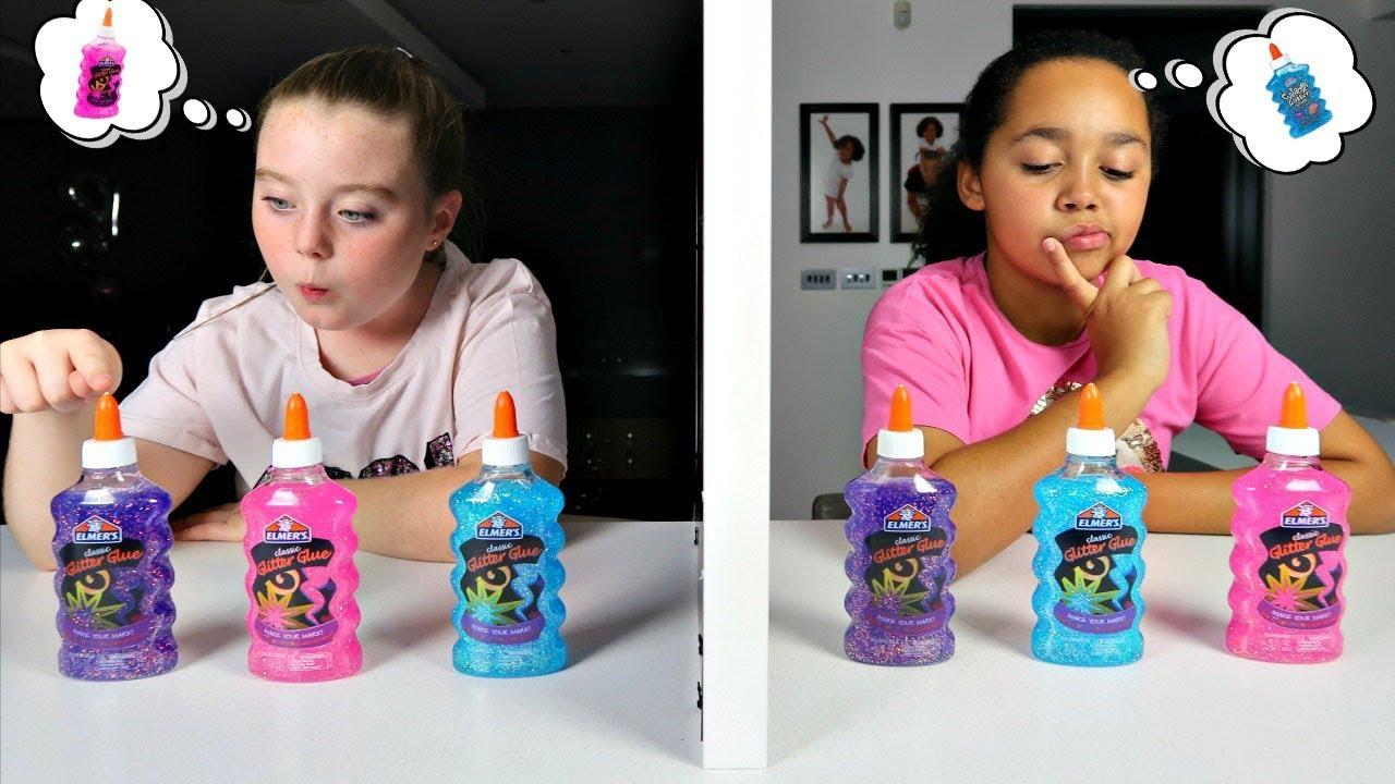 Twin Telepathy Slime Challenge Youtube