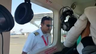 subiendo al avion - Aeropuerto Maria Reiche - Nasca - Peru