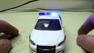 Honolulu Police Department Chevy Impala diecast with working lights