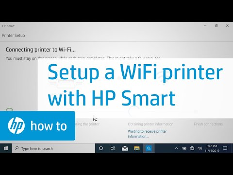 How to Set Up a Wireless HP Printer Using HP Smart in Windows 10   HP Printers   HP