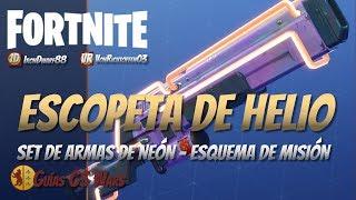 Escopeta de HELIO de FORTNITE | Guía de Armas Legendarias
