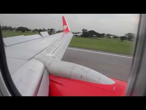 Thai Lion Air SL8509 Boeing 737-900ER Landing