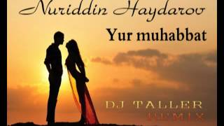 Скачать Nuriddin Haydarov Yur Muhabbat DJ TALLER MIX
