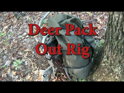 Deer Hunting Pack-Out Rig