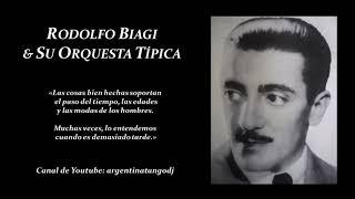 RODOLFO BIAGI & CANTORES JORGE ORTIZ, TEÓFILO IBÁÑEZ, ANDRÉS FALGÁS & FRANCISCO AMOR (10 TANGAZOS)
