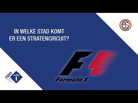 Moet 'ons' Formule 1-circuit In Amsterdam Of Rotterdam Komen? - Bureau Sport Radio