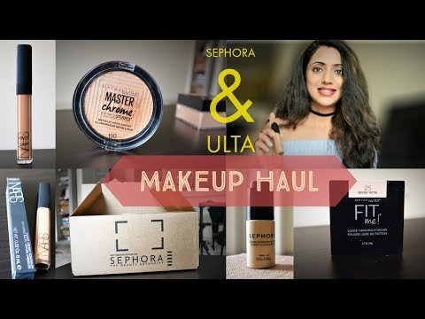 MY SEPHORA & ULTA HAUL | Basic Makeup (Corrector, Concealer, Setting Powder, Brow Definer etc.) thumbnail