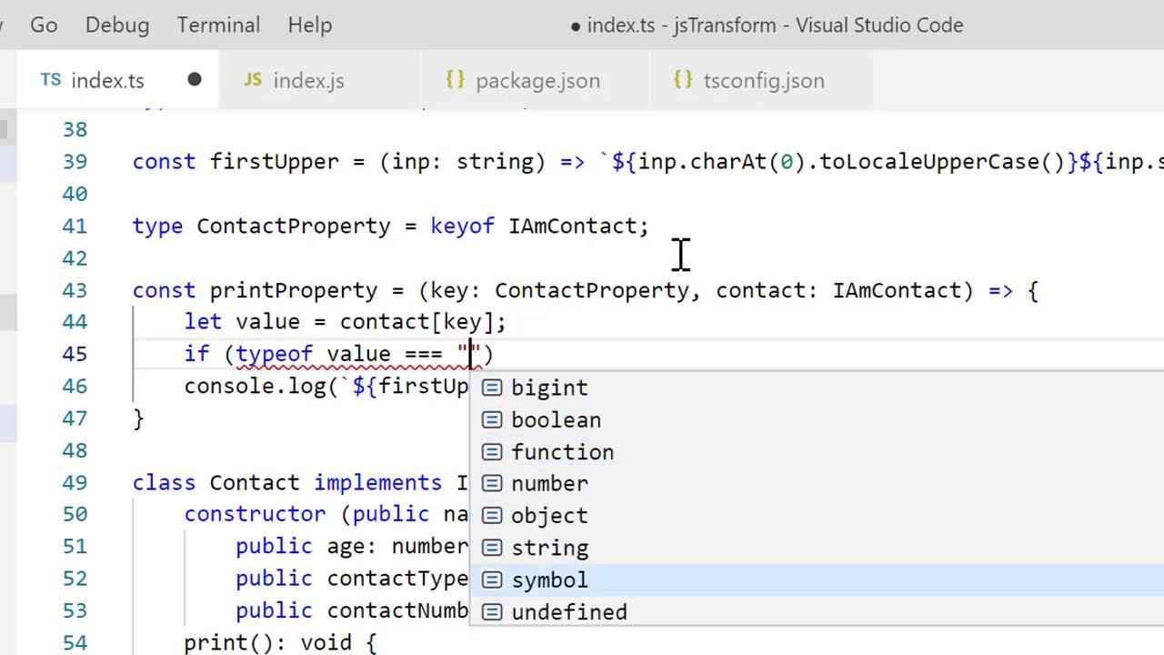 TypeScript for JavaScript Developers by Refactoring Part 2