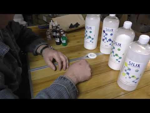Новые расходники от Silix для литья приманок поверхностные краски+4 вида СИЛИКОНА
