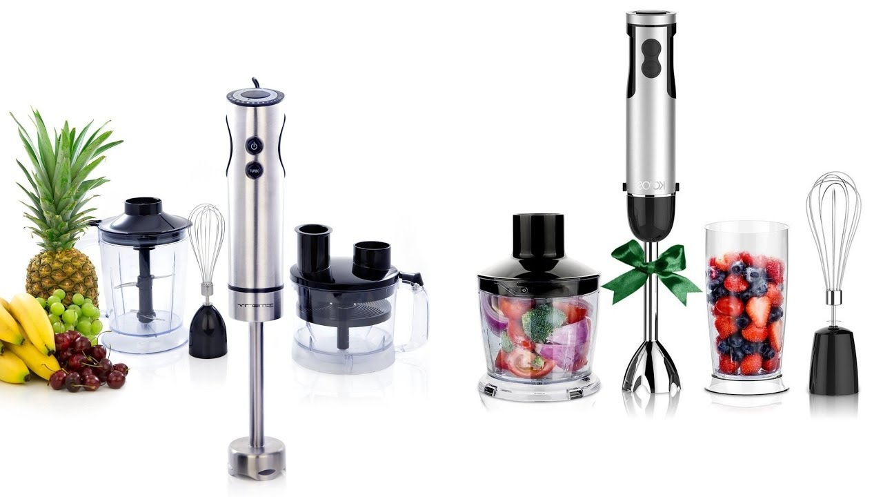 Top 7 Best Hand Blenders 2018. Amazing Kitchen Gadgets Review 2018 ...