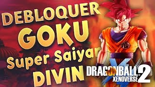 DRAGON BALL XENOVERSE 2 - FR | Débloquer Goku God - Super Saiyen Divin